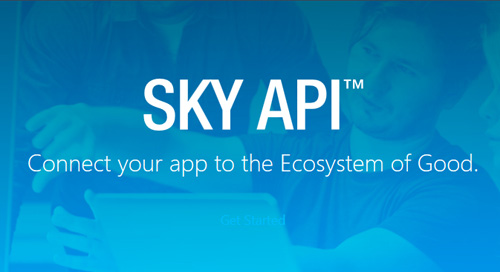 DATASHEET: SKY API for Financial Edge NXT