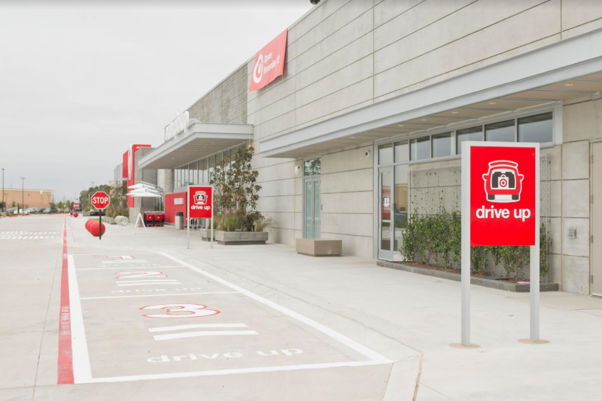 Target parking for more convenient customer experience