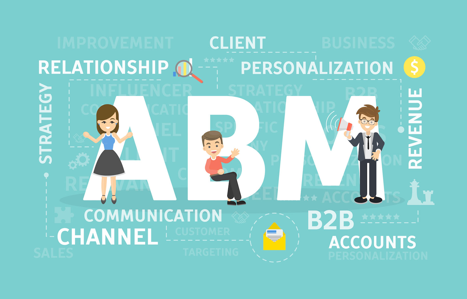 Account-based marketing, or ABM, involves deep insights employed to inform and tailor precise messaging for specific accounts, rather than individuals or industries. Are you practicing it?