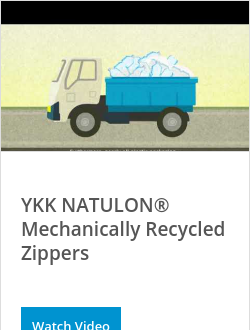 YKK NATULON® Mechanically Recycled Zippers