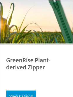 GreenRise Plant-derived Zipper