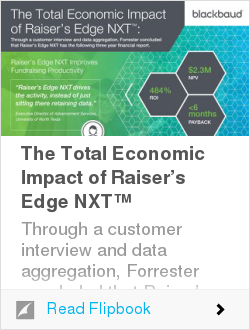 The Total Economic Impact of Raiser's Edge NXT™