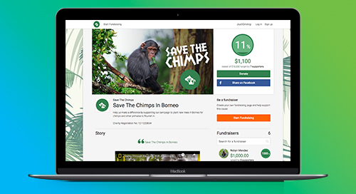 DATASHEET: Blackbaud Peer-to-Peer Fundraising, Powered by JustGiving