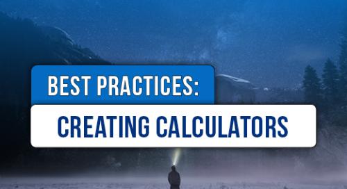 Creating Calculators Best Practices