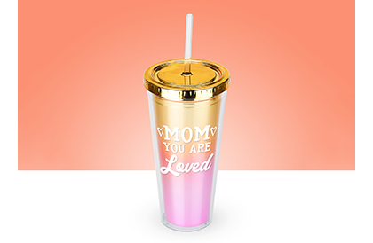 Lovely Ombre Tall Tumbler