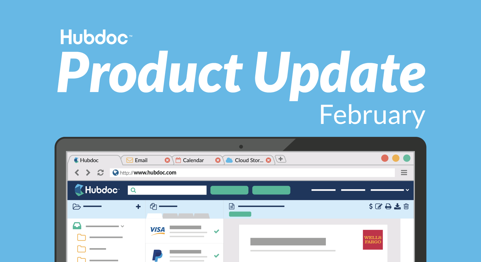 Hubdoc February 2018 Product Update