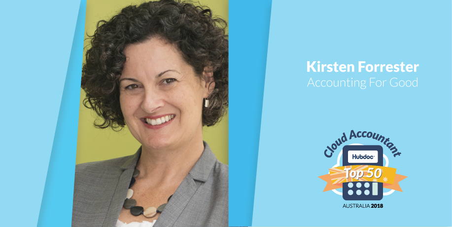 Kirsten Forrester, Accounting For Good