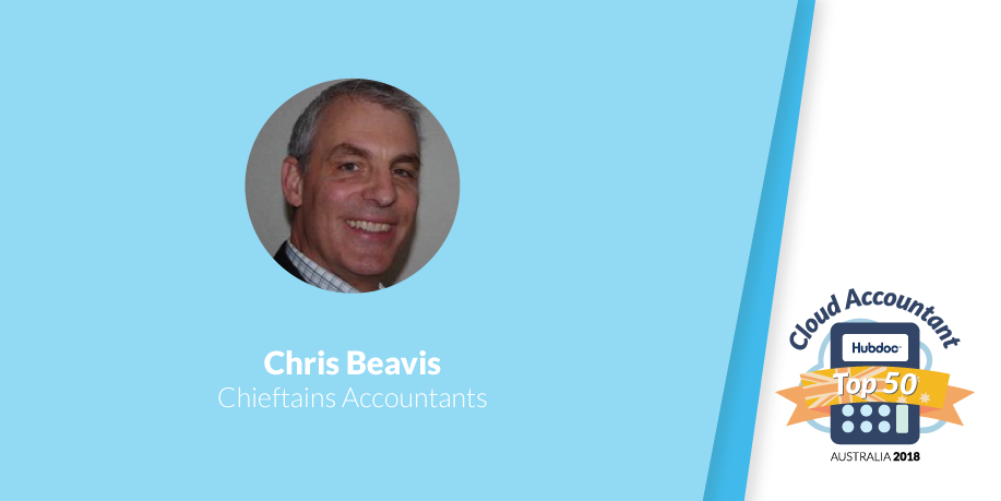 Chris Beavis, Chieftains Accountants