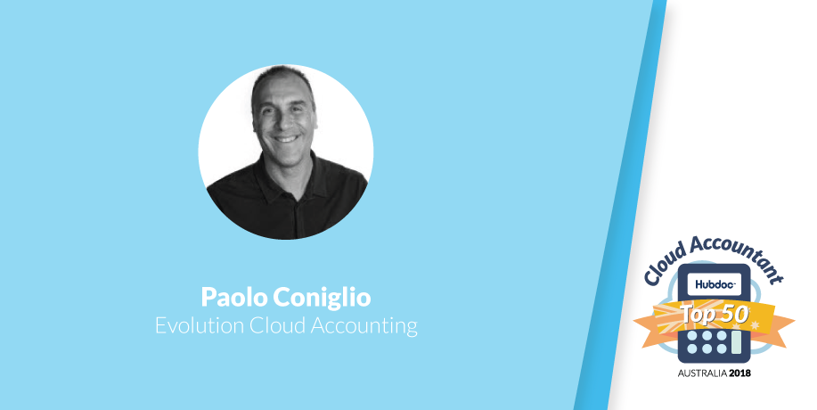Paolo Coniglio, Evolution Cloud Accounting