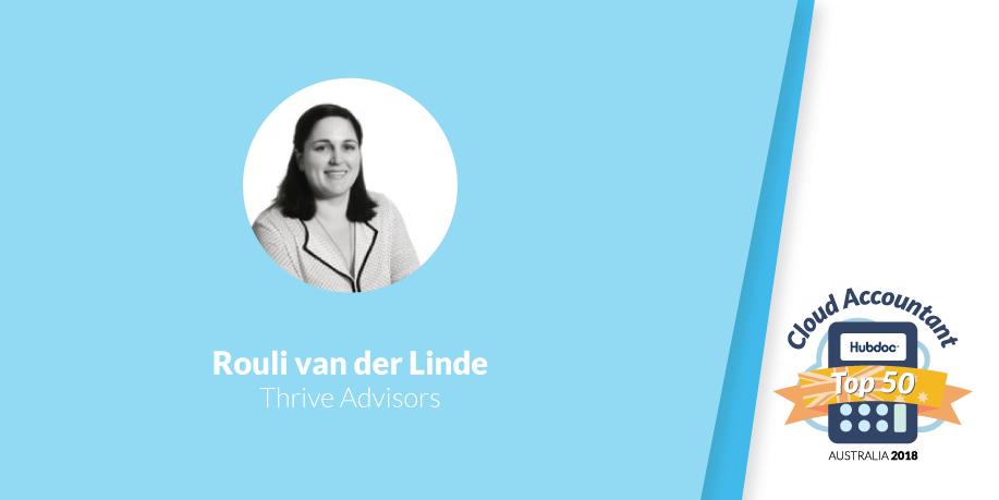 Rouli van der Linde, Thrive Advisors