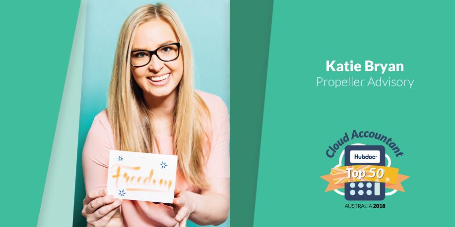 Katie Bryan, Propeller Advisory
