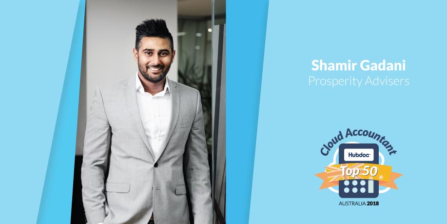 Shamir Gadani, Prosperity Advisers