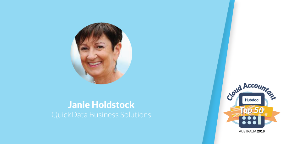 Janie Holdstock, QuickData Business Solutions