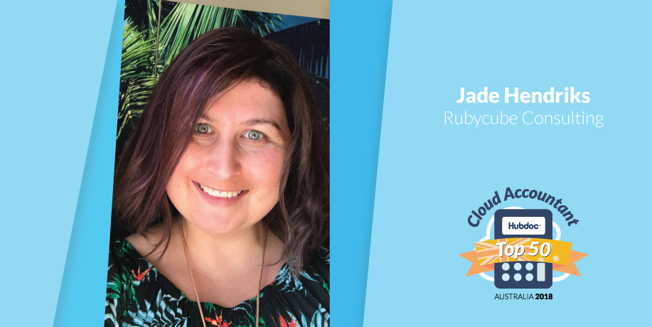 Jade Hendriks, Rubycube Consulting