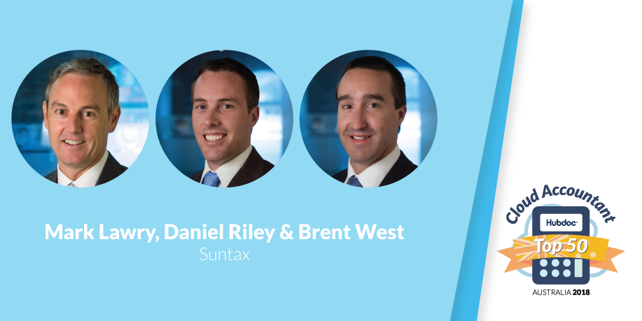 Mark Lawry, Daniel Riley & Brent West, Suntax