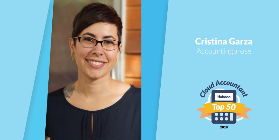 Cristina Garza, Accountingprose