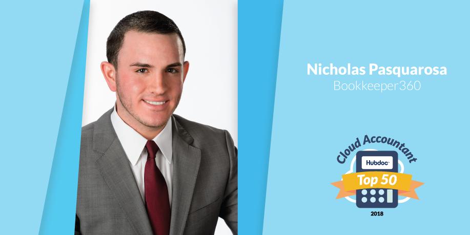 Nicholas Pasquarosa, Bookkeeper360