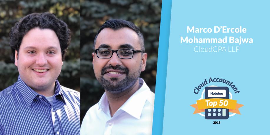 Marco D'Ercole & Mohammad Bajwa, CloudCPA LLP