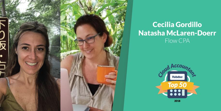 Cecilia Gordillo & Natasha McLaren-Doerr, Flow CPA