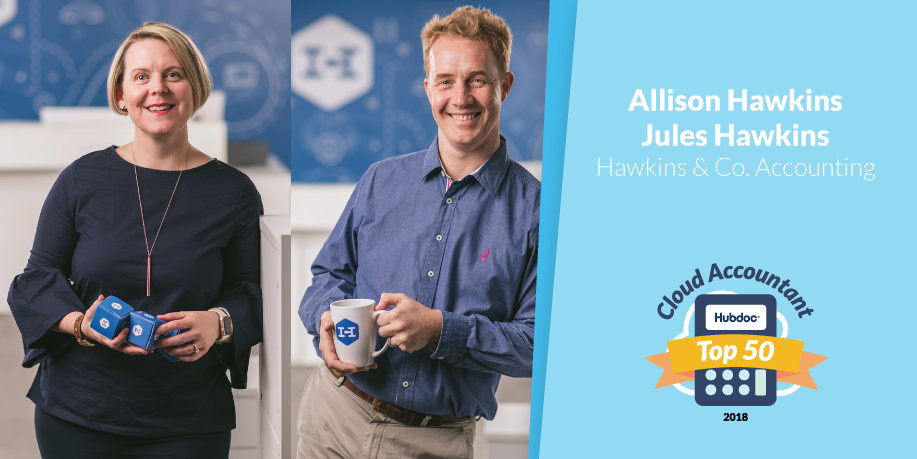 Allison Hawkins & Jules Hawkins, Hawkins & Co. Accounting