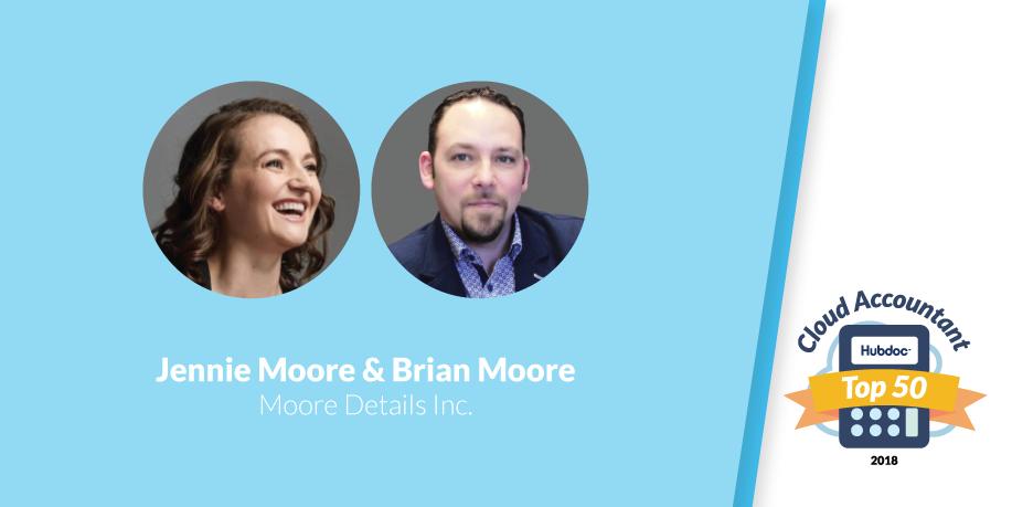 Jennie Moore & Brian Moore, Moore Details Inc.