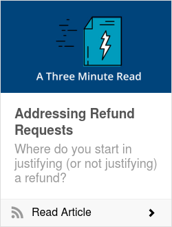 Addressing Refund Requests