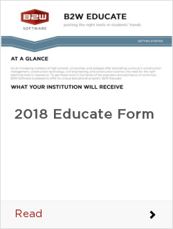 2018 Educate Form