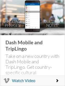 Dash Mobile and TripLingo