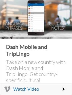 Dash Mobile and TripLingo