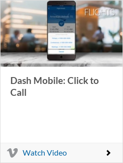 Dash Mobile: Click to Call