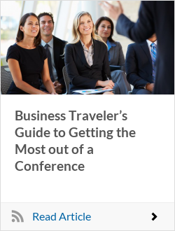 Business Traveler's Guide to Getting the Most out of a Conference