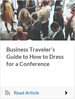 Business Traveler's Guide to How to Dress for a Conference