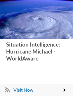 Situation Intelligence: Hurricane Michael - WorldAware