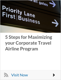 5 Steps for Maximizing your Corporate Travel Airline Program