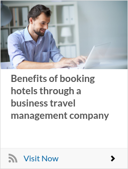 Benefits of booking hotels through a business travel management company