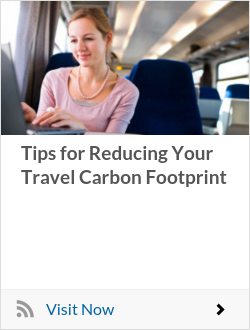 Tips for Reducing Your Travel Carbon Footprint