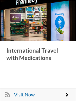 International Travel with Medications