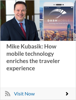 Mike Kubasik: How mobile technology enriches the traveler experience
