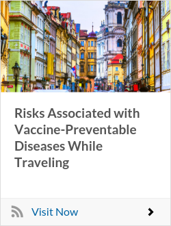 Risks Associated with Vaccine-Preventable Diseases While Traveling