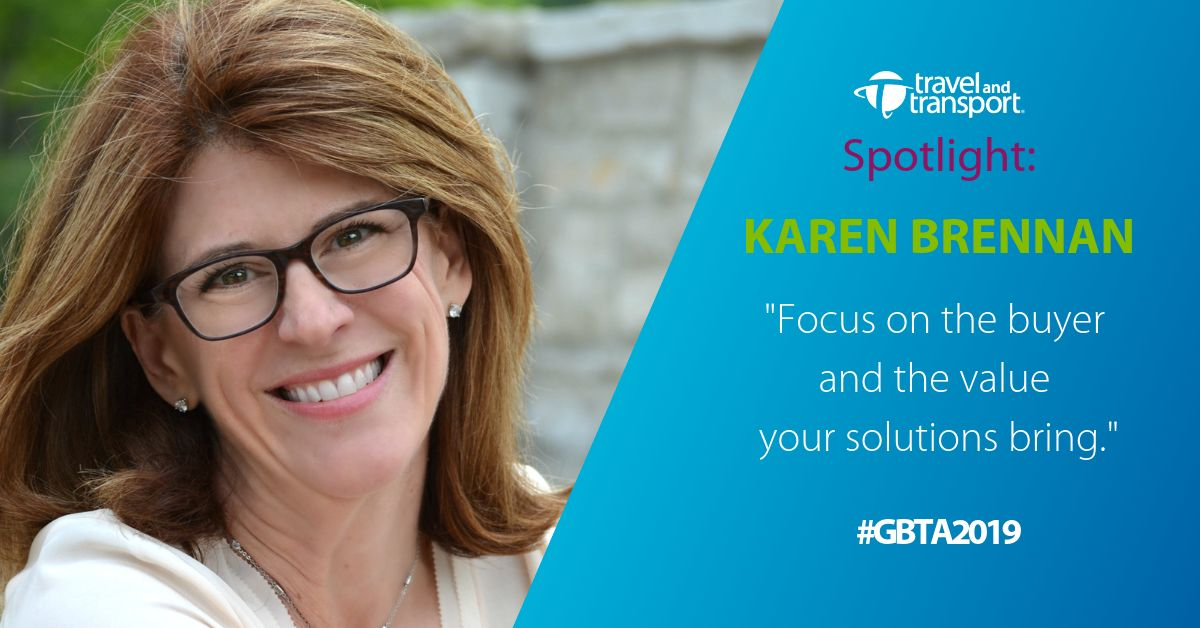 Honing your presentation skills through storytelling -  Focus on the buyer and the value your solutions bring - Karen Brennan - GBTA 2019