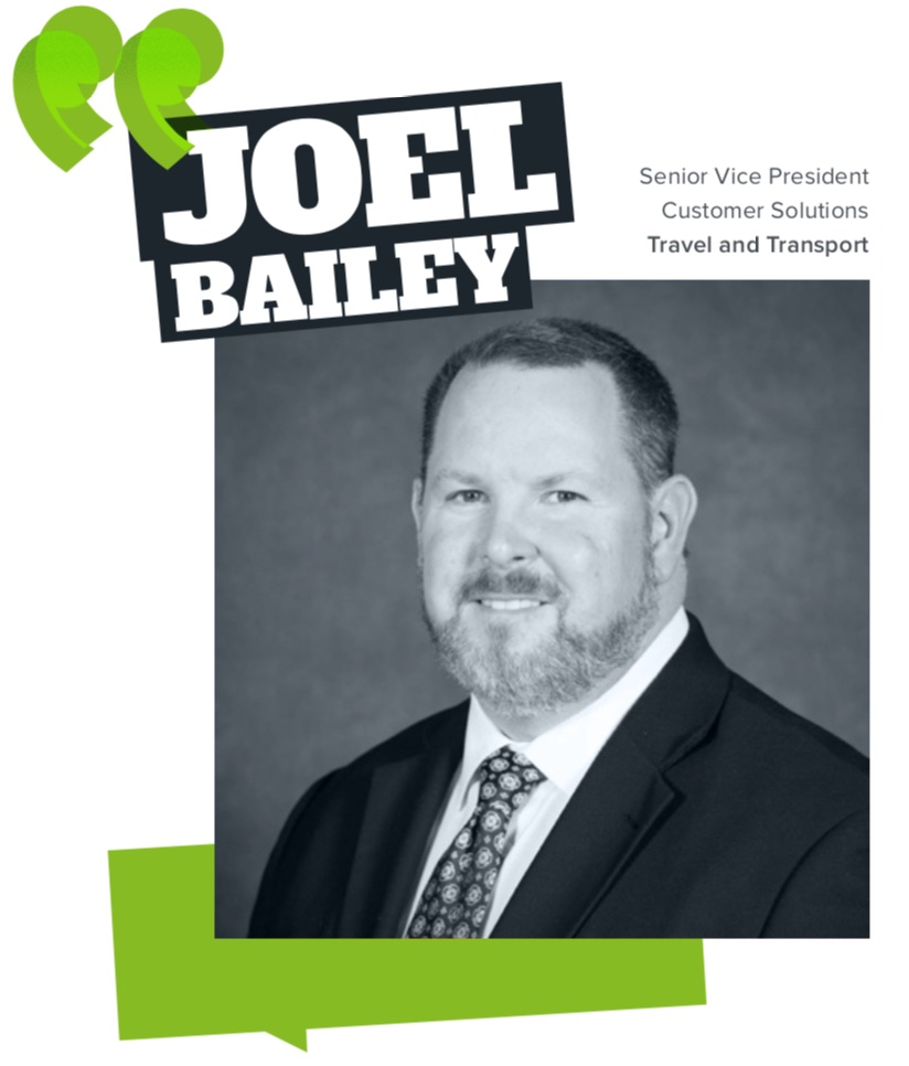 Joel Bailey, Travel and Transport