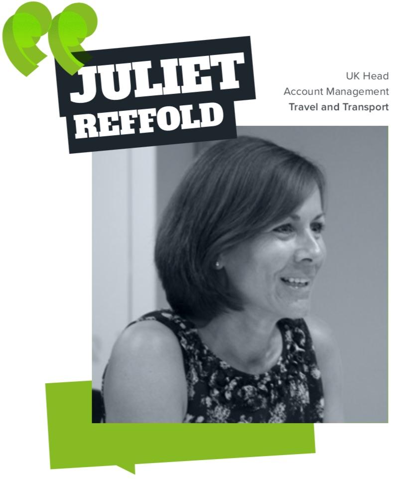 Juliet Reffold - Travel and Transport Statesman