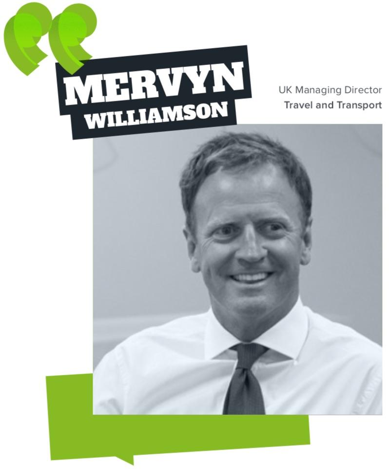 Mervyn Williamson, Travel and Transport Statesman