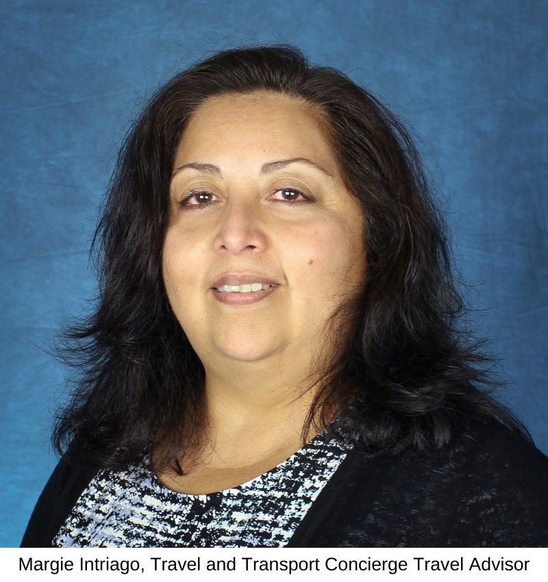 Margie Intriago, Travel and Transport Concierge Travel Advisor