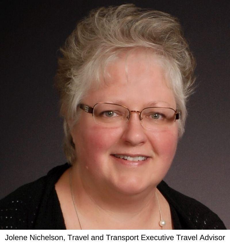 Jolene Nichelson, Travel and Transport Executive Travel Advisor
