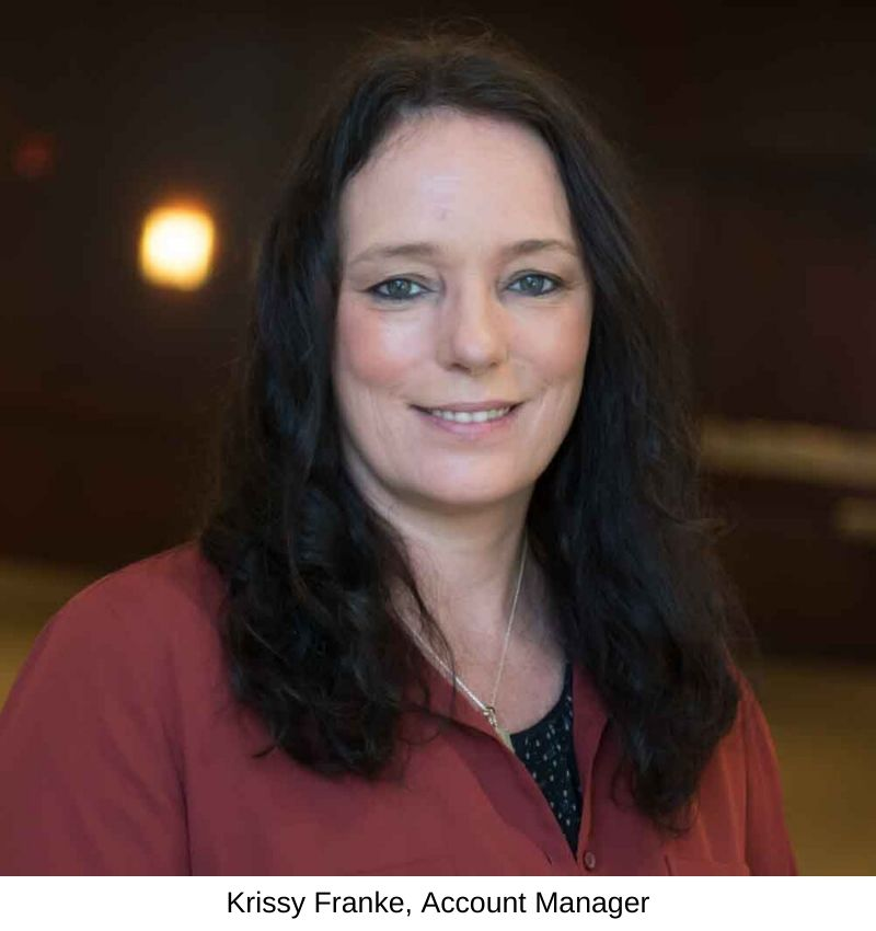 Krissy Franke, Travel and Transport Account Manager