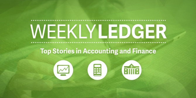 weekly ledger 54 top stories in accounting and finance