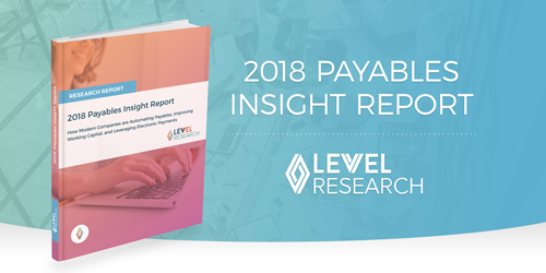 Nvoicepay 2018 Payables Insight Report with Levvel Research
