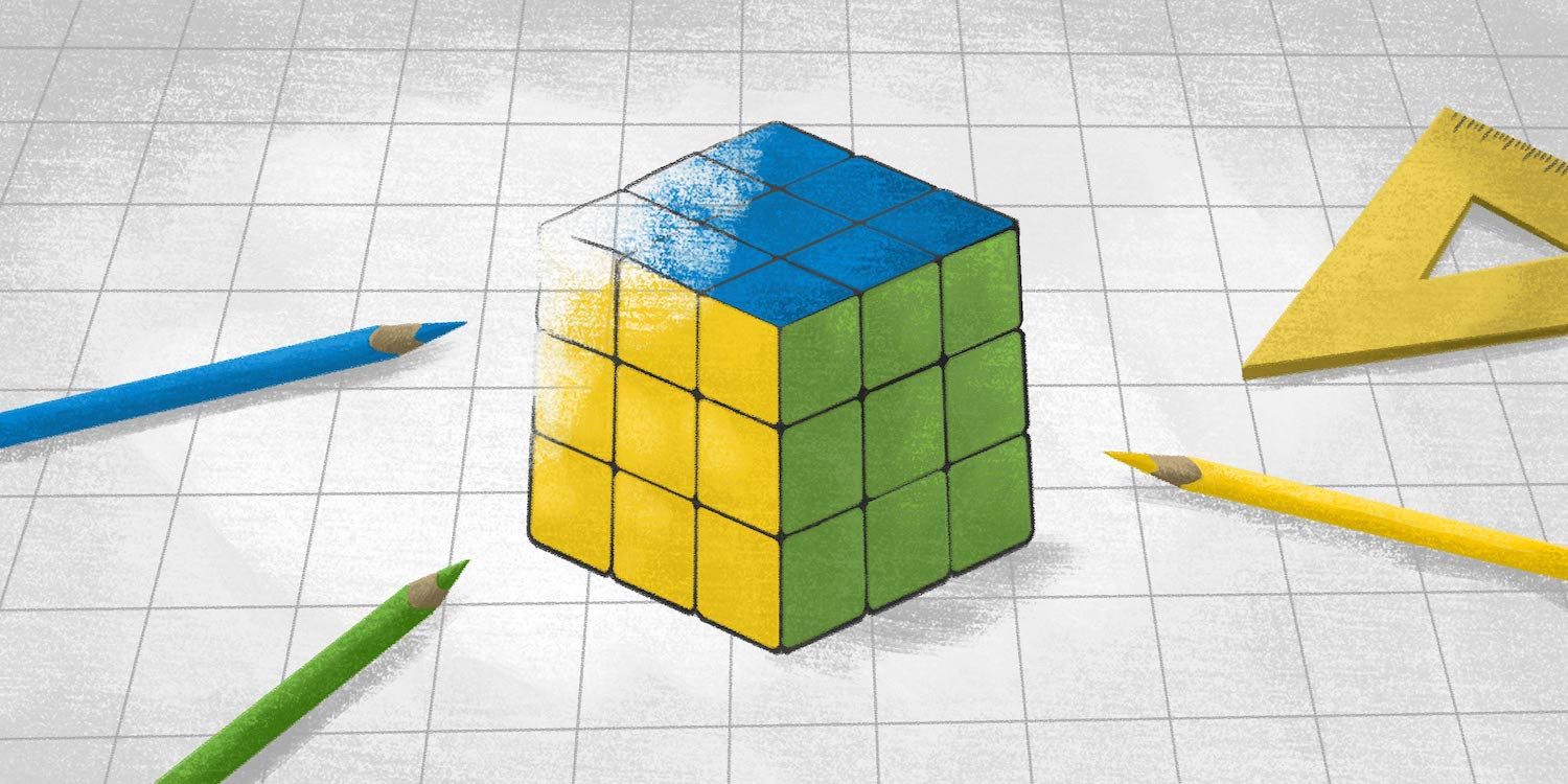 rubik's cube depicting the struggle to solve problems in accounts payable processes