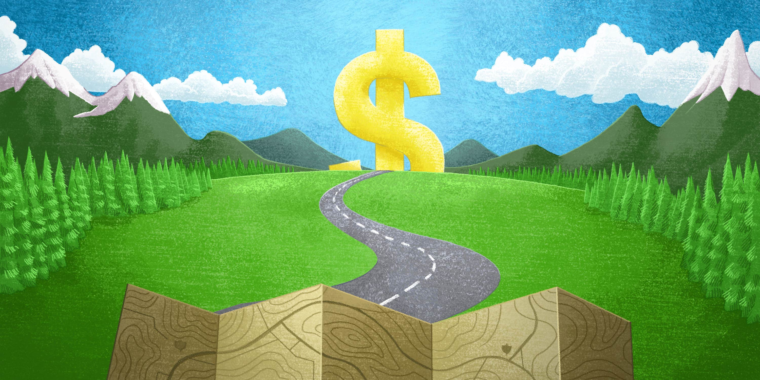 roadmap showing the path to savings in accounts payable
